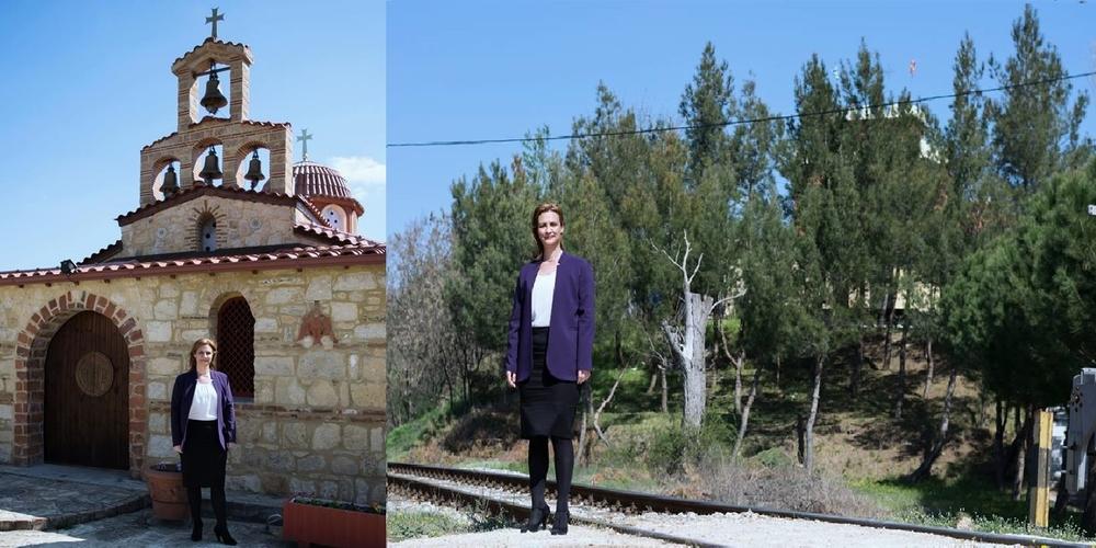 Γκουγκουσκίδου: Να δημιουργηθεί στάση τρένου μπροστά στην Ιερά Μονή Αγίας Σκέπης της Ν.Βύσσας