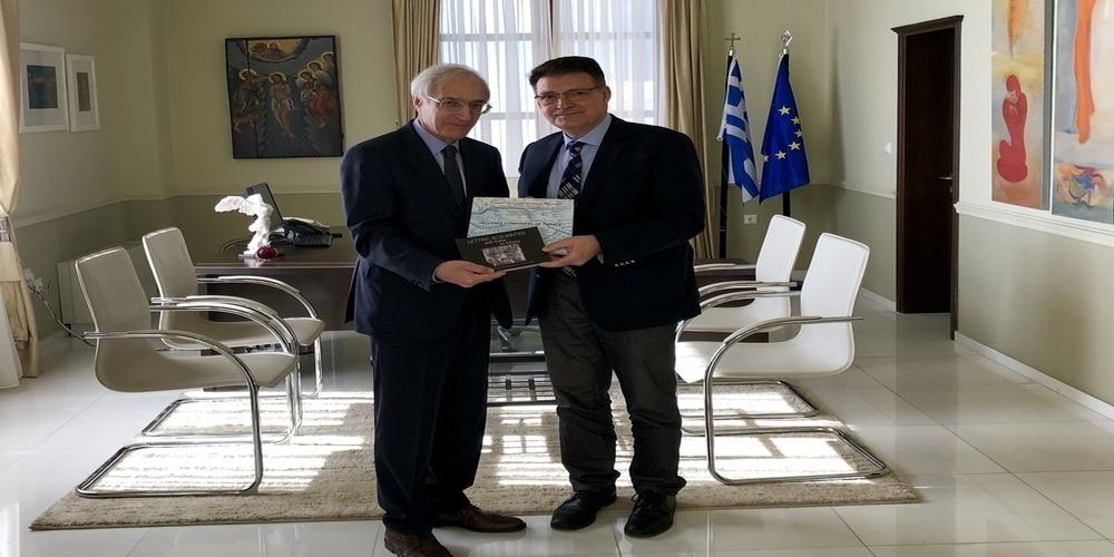 Συνάντηση του Αντιπεριφερειάρχη Έβρου με τον Γενικό Πρόξενο Ρωσίας στη Θεσσαλονίκη