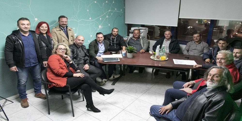 Συνάντηση και στήριξη του υποψήφιου δημάρχου Γιάννη Ζαμπούκη στην διοίκηση του Συλλόγου «Αινήσιο Δέλτα»