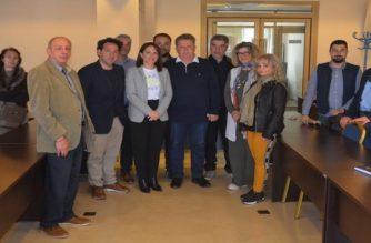 Επίσκεψη του υποψήφιου δημάρχου Βαγγέλη Μυτιληνού στον Εμπορικό Σύλλογο Αλεξανδρούπολης