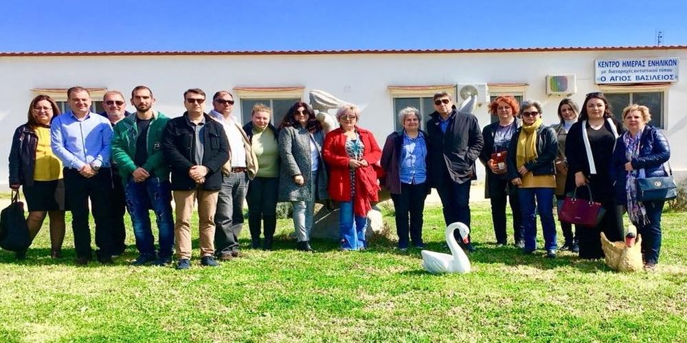 Αλεξαδρούπολη: Επίσκεψη του υποψήφιου δημάρχου Παύλου Μιχαηλίδη στο Κέντρο Ημέρας Αυτιστικών Ατόμων στο Δωρικό