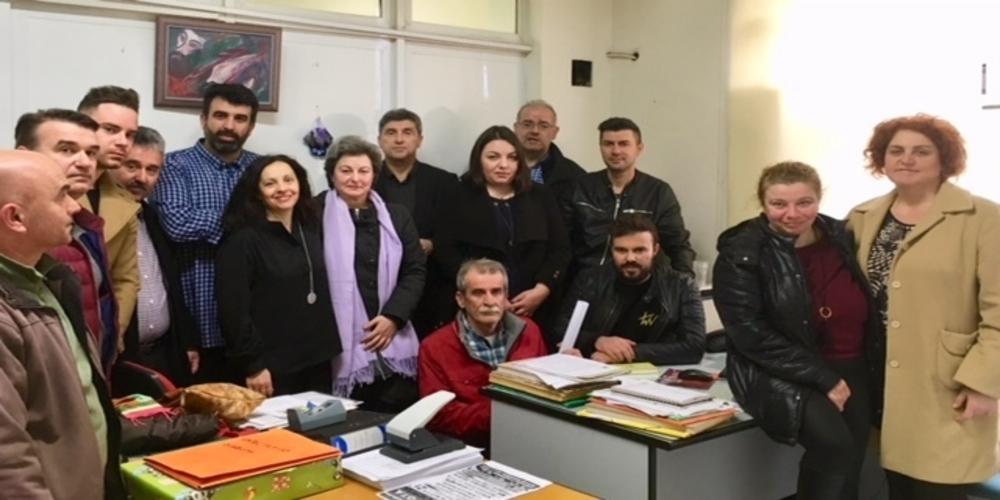 Αλεξανδρούπολη: Συνάντηση του υποψήφιου δημάρχου Παύλου Μιχαηλίδη με τον Σύλλογο Εργαζομένων δήμου Αλεξανδρούπολης