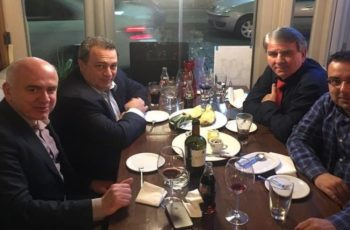 Δείπνο Στυλιανίδη- Μέτιου με ισχυρά μηνύματα στήριξης για τις εκλογές της Περιφέρειας