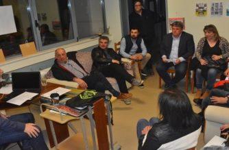 Επίσκεψη και ενημέρωση του υποψήφιου δημάρχου Βαγγέλη Μυτιληνού στον Αθλητικό Σύλλογο ΑμεΑ Αλεξανδρούπολης ΚΟΤΙΝΟΣ