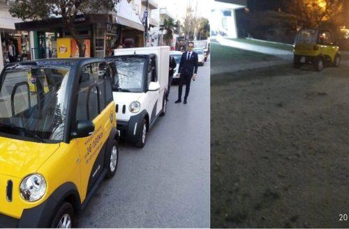 Αλεξανδρούπολη: Fake εντυπώσεις από Γκοτσίδη για αγορά νέων ηλεκτροκίνητων αυτοκινήτων απ' το δήμο