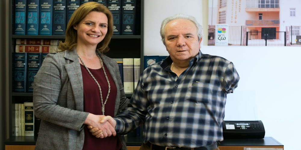 Ορεστιάδα: Ο συνταξιούχος τραπεζικός Βασίλειος Φαρφάρας συστρατεύθηκε με την υποψήφια δήμαρχο Μαρία Γκουγκουσκίδου