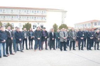 Διδυμότειχο: Μνημόσυνο για τους πεσόντες αστυνομικούς στην Σχολή Αστυφυλάκων (φωτορεπορτάζ)