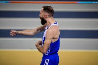 Ασημένιο μετάλλιο ο Θρακιώτης Μπανιώτης στο Πανευρωπαϊκό Κλειστού Στίβου στην Γλασκώβη
