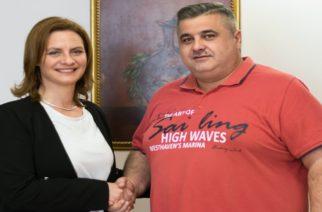 Ο Γραμματέας του Εργατοϋπαλληλικού Κέντρου Ορεστιάδας Παύλος Τσολακίδης υποψήφιος με την Μαρία Γκουγκουσκίδου