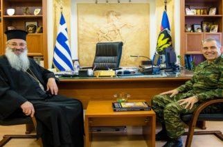 Επίσκεψη του Μητροπολίτη Αλεξανδρουπόλεως κ.Άνθιμου στη 12η Μεραρχία