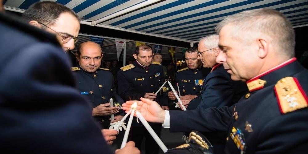 Ανάσταση στον Έβρο και επισκέψεις σε στρατιωτικά φυλάκια για τον Αρχηγό ΓΕΣ