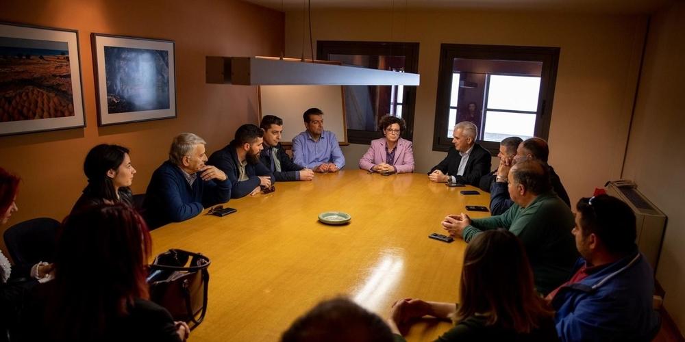 Επίσκεψη και ενημέρωση του υποψηφίου δημάρχου Σουφλίου Παναγιώτη Καλακίκου στην βιομηχανία AKRITAS