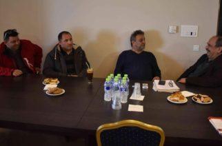 Αλεξανδρούπολη: Συνάντηση Σάββα Δευτεραίου με την Συντεχνία Αρτοποιών Ν. Εβρου