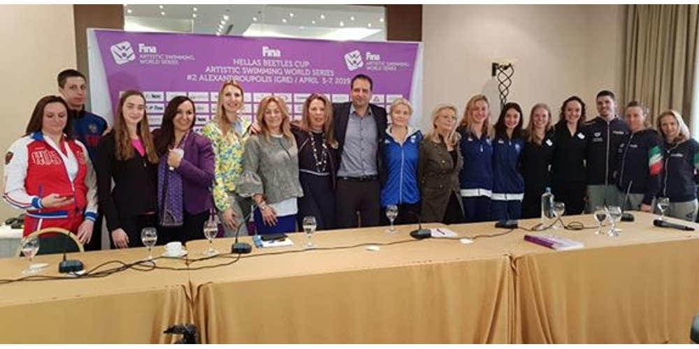 Αρχίζει σήμερα στην Αλεξανδρούπολη το διεθνές μίτινγκ Συγχρονισμένης Κολύμβησης (ΒΙΝΤΕΟ)