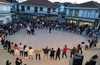 Στον Πεντάλοφο Ορεστιάδας τήρησαν και χθες το έθιμο με το πασχαλιάτικο γλέντι (Video)