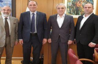 Τα ενεργειακά θέματα συζήτησε με τον υπουργό Περιβάλλοντος και Ενέργειας Γιώργο Σταθάκη ο δήμαρχος Αλεξανδρούπολης