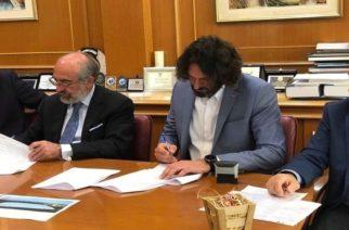 Με καθυστέρηση ενός χρόνου υπεγράφη επιτέλους η σύμβαση για την προμήθεια του αθλητικού Μπαλονιού