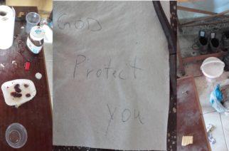 Ορεστιάδα: Λαθρομετανάστες μπήκαν σε εξοχική κατοικία, έφαγαν, ήπιαν, αφήνοντας ρούχα και ευχαριστήριο σημείωμα!!!