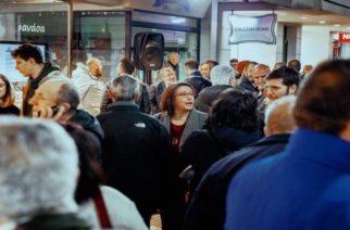 Πολιτικός πολιτισμός από δημοτικό σύμβουλο του Λαμπάκη – Πήγε στα εγκαίνια του εκλογικού κέντρου Π.Μιχαηλίδη!!!