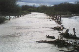 Πλημμύρισε και έκλεισε ο δρόμος Πάλλη-Πεντάλοφος στο Τρίγωνο Ορεστιάδας (ΒΙΝΤΕΟ+φωτό)