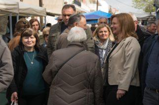 Τις απόψεις του κόσμου άκουσε στην λαϊκή αγορά της Ορεστιάδας η υποψήφια δήμαρχος Μαρία Γκουγκουσκίδου
