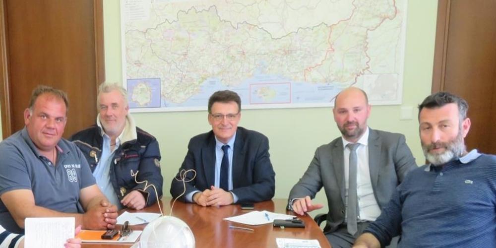 """Συνάντηση με τον Αντιπεριφερειάρχη Δημήτρη Πέτροβιτς για τις καλύβες στο Δέλτα Έβρου ο Σύλλογος """"Αινήσιο Δέλτα"""""""