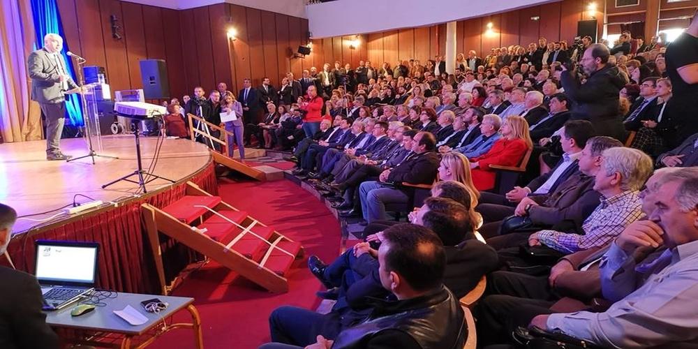 Με εντυπωσιακή παρουσία κόσμου, ο Χρήστος Μέτιος παρουσίασε τους υποψήφιους Περιφερειακούς Συμβούλους του Έβρου (ΒΙΝΤΕΟ)