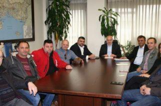 Συνάντηση του Περιφερειάρχη ΑΜΘ Χρήστου Μέτιου με τους αρτοποιούς της Περιφέρειας