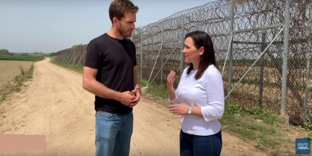 Video: Αυτοψία στην απαγορευμένη ζώνη των ελληνοτουρκικών συνόρων από το Euronews