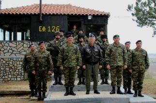 Επίσκεψη του Αρχηγού ΓΕΕΘΑ Πτέραρχου Χρήστου Χριστοδούλου σε φυλάκιο στο Σουφλί