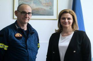 Ορεστιάδα: Επίσκεψη στην Πυροσβεστική και συνάντηση με νέους για την υποψήφια δήμαρχο Μαρία Γκουγκουσκίδου