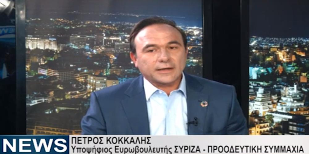 Ο υποψήφιος Ευρωβουλευτής του ΣΥΡΙΖΑ Πέτρος Κόκκαλης μιλάει για τον αθλητισμό