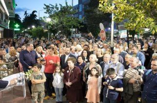 Παλμός, ενθουσιασμός και πολύς κόσμος στην προεκλογική ομιλία του Γιάννη Ζαμπούκη (ΒΙΝΤΕΟ+φωτό)