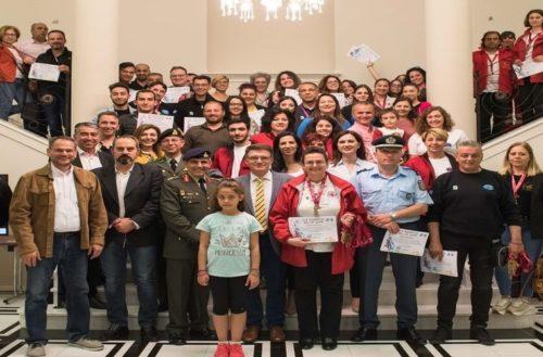 Τιμήθηκαν οι 400 πολίτες-εθελοντές, το «κλειδί» της επιτυχίας του VIA EGNATIA RUN 2019