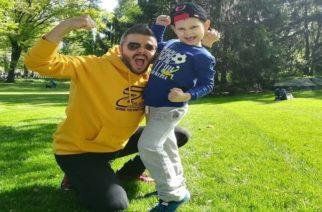Τεράστια συγκίνηση: Ο Πέτρος Πολυχρονίδης συνάντησε στην Αμερική το βαφτιστήρι του Βαγγελάκη, που νίκησε τον καρκίνο!!!