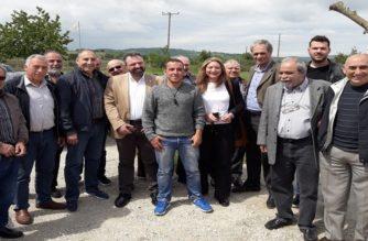 Την ανερχόμενη βιομηχανία κατεψυγμένων λαχανικών Hellas Frost στους Μεταξάδες, επισκέφθηκε ο υπουργός Αγροτικής Ανάπτυξης