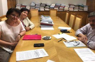 Επίσκεψη του προεδρείου του Συλλόγου Καρκινοπαθών Β. Έβρου στον Υπουργό Υγείας Ανδρέα Ξανθό