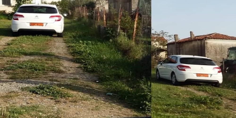 Τι γυρεύει το υπηρεσιακό αυτοκίνητο του δημάρχου Βαγγέλη Λαμπάκη στον Άβαντα;
