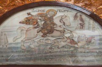 Στη Νέα Χηλή Αλεξανδρούπολης η Ιερή Εικόνα του Αγίου Γεωργίου Περιστερεώτα