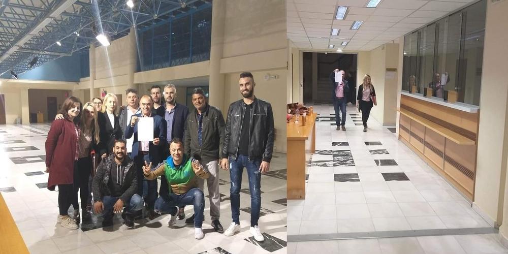 Το ψηφοδέλτιο της παράταξης «ΜΑΖΙ για το Διδυμότειχο» με υποψήφιο δήμαρχο τον Κώστα Δημητρίου