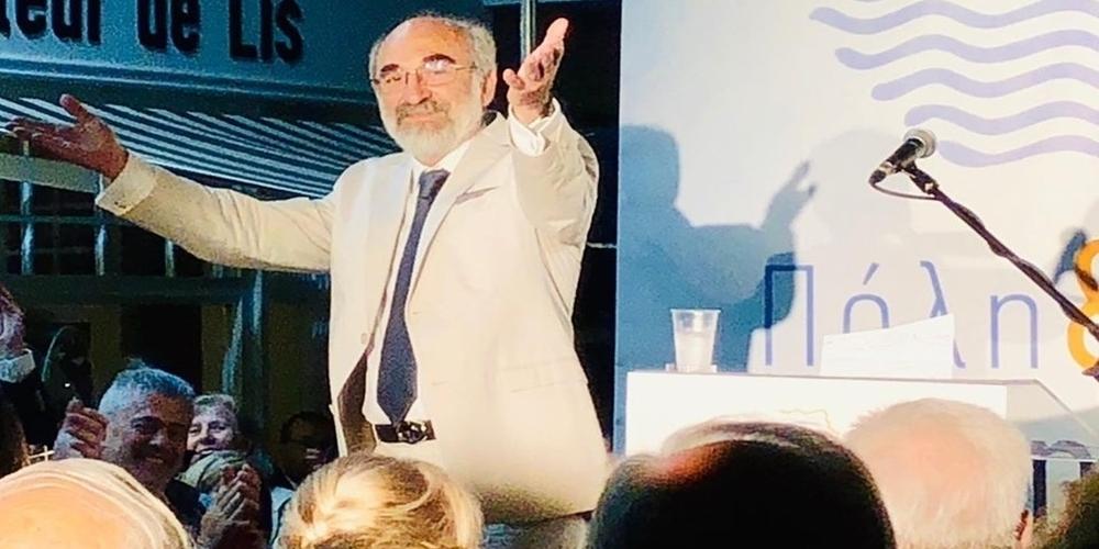 """ΒΙΝΤΕΟ: Αυτοί είναι που τον """"πολεμούν"""", όπως κατήγγειλε στην κεντρική του ομιλία ο Β.Λαμπάκης"""