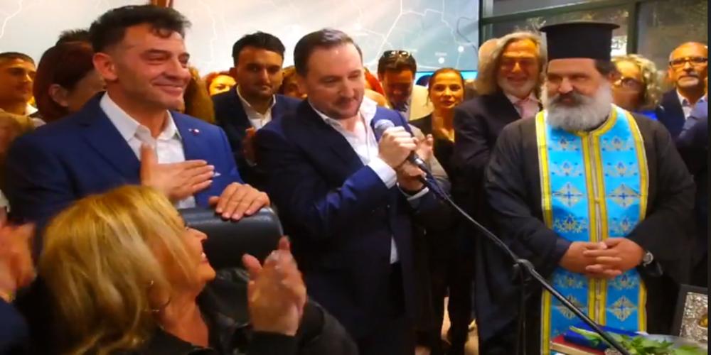 """Γιάννης Ζαμπούκης: """"Μπαμ"""" με ανακοίνωση ως υποψήφιου δημοτικού συμβούλου του δημοσιογράφου Δημήτρη Κολιού"""