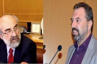 Προσπαθεί να δικαιολογήσει τ' αδικαιολόγητα ο Λαμπάκης για τ' αρδευτικά: Δεν φταίω εγώ, αλλά ο υπουργός Αραχωβίτης