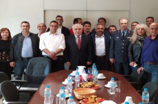Συνάντηση των Αστυνομικών Αλεξανδρούπολης με την Υπουργό Όλγα Γεροβασίλη και τον Αρχηγό της ΕΛ.ΑΣ