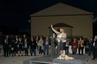 """Μεγάλη συγκέντρωση στα Δίκαια για την Μαρία Γκουγκουσκίδου – «Είσαι η δήμαρχος μας"""" φώναξαν οι Τριγωνιώτες"""