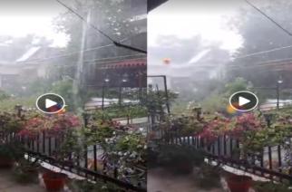 Δύο χαρακτηριστικά ΒΙΝΤΕΟ από την καταιγίδα που έπληξε το Διδυμότειχο