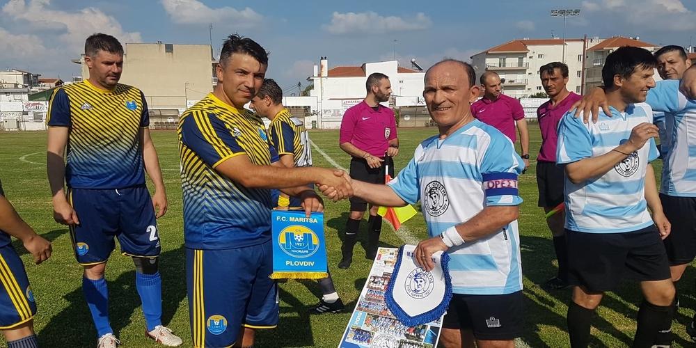 Οι παλαίμαχοι του Ορέστη υποδέχθηκαν την Μαρίτσα Βουλγαρίας για το Βαλκανικό Πρωτάθλημα Παλαιμάχων