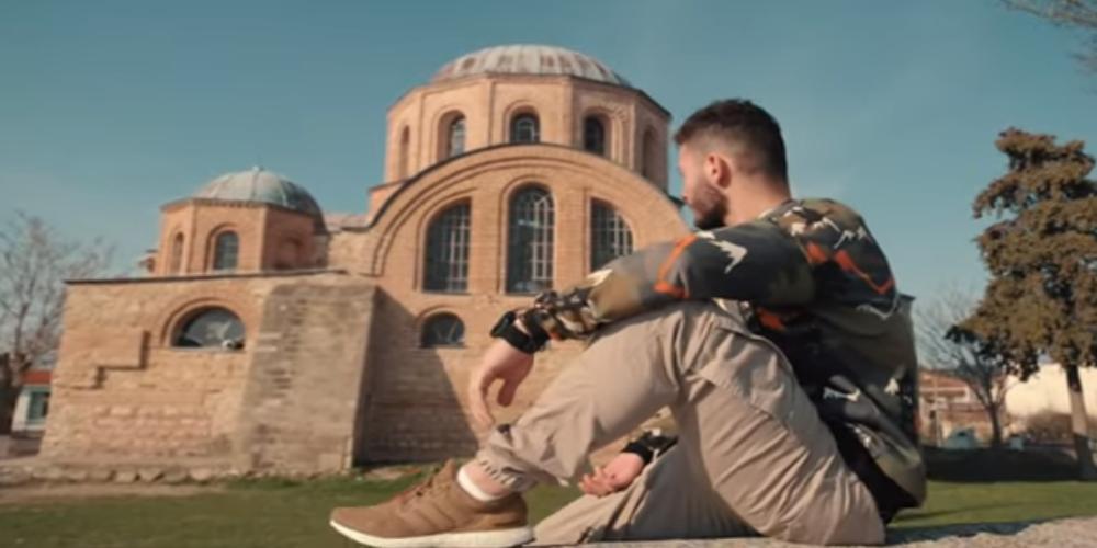 Ο Χρυσός Εβρίτης Παραολυμπιονίκης Δημοσθένης Μιχαλεντζάκης πρωταγωνιστής στο βίντεο κλιπ: Δώσε κουράγιο