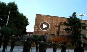 ΒΙΝΤΕΟ: Υποστολή της σημαίας σήμερα στην πλατεία Διδυμοτείχου