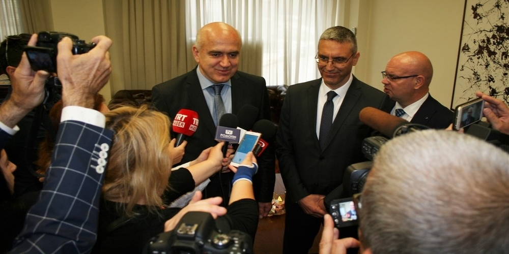 Συνάντηση του Περιφερειάρχη ΑΜΘ Χρήστου Μέτιου με τον Πρέσβη της Τουρκίας στην Αθήνα